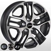 Автомобильный колесный диск R17 5*114,3 TL1498NW BMF - W6.5 Et48 D67.1