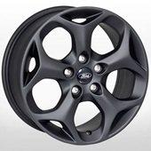 Автомобильный колесный диск R16 5*108 FD-5719 MattBLACK (Ford) - W7.0 Et50 D63.4