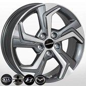Автомобильный колесный диск R17 5*114,3 TL5879NW GMF - W6.5 Et49 D67.1