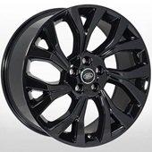 Автомобильный колесный диск R21 5*120 LR-7159 BLACK (Land Rover) - W9.5 Et49 D72.6