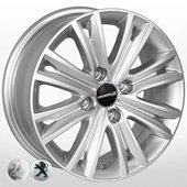 Автомобильный колесный диск R15 4*108 PG-8185 S (Peugeot, Citroen) - W6.0 Et27 D65.1