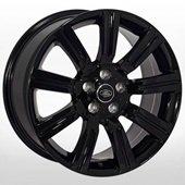 Автомобильный колесный диск R20 5*120 ZF-TL9002 BLACK (Land Rover) - W9.5 Et50 D72.6