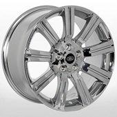 Автомобильный колесный диск R20 5*120 LR-9002 Chrome (Land Rover) - W9.5 Et50 D72.6