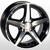 Автомобильный колесный диск R13 4*100 ZW-244 BP - W5.5 Et35 D67.1