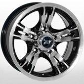 Автомобильный колесный диск R16 5*139,7 ZW-2513 BP - W7.0 Et0 D110.5