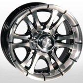 Автомобильный колесный диск R15 5*139,7 ZW-268 BP - W7.0 Et0 D110.5