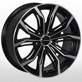 Автомобильный колесный диск R17 5*112 ZW-2747 BP/M - W7.5 Et35 D66.6