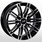 Автомобильный колесный диск R13 4*98 ZW-3303 BP - W5.5 Et25 D58.6