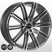Автомобильный колесный диск R19 5*112 B--3303 MK-P (BMW, Audi) - W8.5 Et25 D66.6