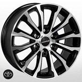 Автомобильный колесный диск R17 6*139,7 TY-5312 BP (Toyota) - W7.5 Et25 D106.1