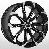 Автомобильный колесный диск R19 5*114,3 ZW-5320 BP - W8.5 Et40 D67.1