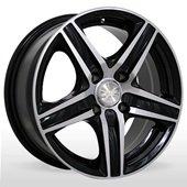 Автомобильный колесный диск R15 4*114,3 ZW-610 BP - W6.5 Et38 D67.1