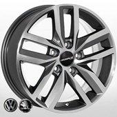 Автомобильный колесный диск R15 5*112 SK-6314 MK-P (Skoda, VW) - W6.0 Et38 D57.1