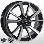 Автомобильный колесный диск R16 5*114,3 NS-6344 BP (Nissan, Renault) - W6.5 Et40 D66.1