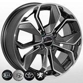 Автомобильный колесный диск R15 4*100 KI-6362 MK-P - W6.5 Et38 D67.1