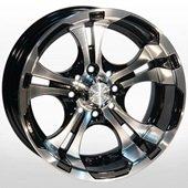Автомобильный колесный диск R13 4*98 ZW-720 BP - W6 Et0 D58.6