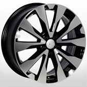 Автомобильный колесный диск R17 5*100 SB-7727 BP (Subaru) - W7.0 Et48 D56.1