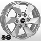 Автомобильный колесный диск R16 6*139,7 MI-7756 SL (Mitsubishi) - W7.0 Et38 D67.1