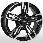 Автомобильный колесный диск R16 5*120 ZW-8104 BP - W7.0 Et20 D74.1