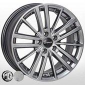 Автомобильный колесный диск R16 5*100 SB-9074 HB (Subaru, MG) - W7.0 Et48 D56.1