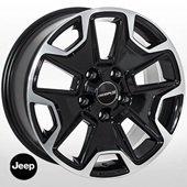 Автомобильный колесный диск R17 5*127 J-9080 BP (Jeep) - W8.0 Et35 D71.6