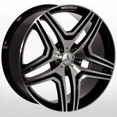 Автомобильный колесный диск R20 5*112 ZW-BK206 BP (Mercedes) - W9.0 Et48 D66.6