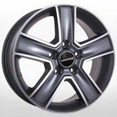 Автомобильный колесный диск R15 5*130 MB-473 GP (Mercedes, VW) - W6.5 Et54 D84.1