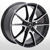 Автомобильный колесный диск R19 5*112 MB-5015 BP (Mercedes) - W8.0 Et45 D66.6