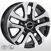 Автомобильный колесный диск R18 5*150 TY-5118 BP (Lexus, Toyota) - W8.0 Et45 D110.2