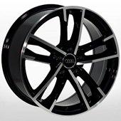 Автомобильный колесный диск R19 5*112 A-5126 BP (Audi) - W8.5 Et33 D66.6