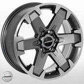 Автомобильный колесный диск R16 6*114,3 NS-5133 GP (Nissan) - W7.0 Et30 D66.1