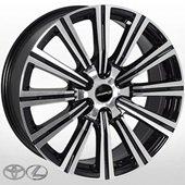 Автомобильный колесный диск R20 6*139,7 TY-5166 BP (Toyota, Lexus) - W8.5 Et25 D106.2