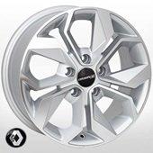 Автомобильный колесный диск R15 5*108 RN-5168 SP (Renault) - W6.5 Et44 D60.1