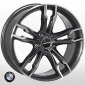Автомобильный колесный диск R19 5*120 B-5255 GP (BMW) - W8.5 Et25 D74.1