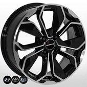 Автомобильный колесный диск R14 4*100 HY-5296 BP (Hyundai, Kia, Toyota) - W5.5 Et40 D54.1
