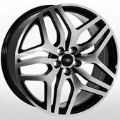 Автомобильный колесный диск R18 5*108 LR-5322 BP (Land Rover) - W8.0 Et45 D63.4