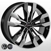Автомобильный колесный диск R18 5*112 VW-5333 BP - W8.0 Et30 D66.6