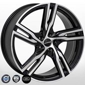 Автомобильный колесный диск R20 5*108 V-5399 BP - W8.5 Et38 D63.4