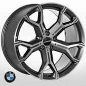 Автомобильный колесный диск R20 5*120 B-5498 GP (BMW) - W9.0 Et35 D74.1