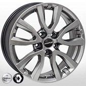 Автомобильный колесный диск R17 5*114,3 NS-5504 HB (Nissan, Renault) - W7.0 Et40 D66.1