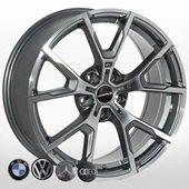 Автомобильный колесный диск R18 5*112 B-5601 GP - W8.0 Et25 D66.6