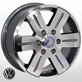 Автомобильный колесный диск R16 6*130 MB-562 GP (Mercedes, VW) - W7.0 Et60 D84.1