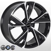 Автомобильный колесный диск R20 5*112 A-5749 BP (Audi, BMW, Mercedes) - W9.0 Et35 D66.6