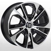 Автомобильный колесный диск R20 5*150 TY-5756 BP (Toyota, Lexus) - W8.5 Et45 D110.2