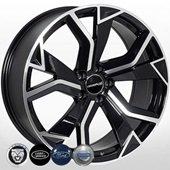Автомобильный колесный диск R20 5*108 JG-5764 BP (Jaguar, LR, Volvo, Ford) - W8.5 Et40 D63.4
