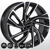 Автомобильный колесный диск R17 5*114,3 KI-5772 BP - W7.5 Et35 D67.1