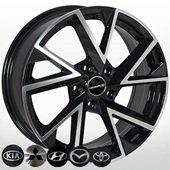 Автомобильный колесный диск R17 5*114,3 MZ-5804 BP - W7.0 Et45 D67.1