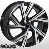 Автомобильный колесный диск R18 5*112 SK-5805 BP (Skoda, VW, Seat, Audi) - W8.0 Et45 D57.1