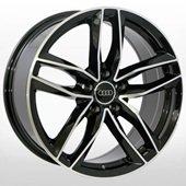 Автомобильный колесный диск R17 5*112 A-690 BP (Audi, Mercedes) - W7.5 Et37 D66.6