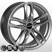 Автомобильный колесный диск R17 5*112 BK690 HB - W7.5 Et38 D66.6